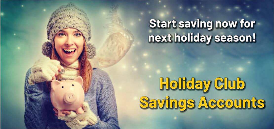 Holiday Club Savings Accounts